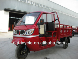 2014 New Style Semi enclosed cargo trike motorcycle