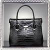2013 designer genuine crocodile leather handbag