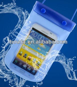 summer hot sale pvc waterproof cell phone bag