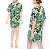 2014 Arrival Metro Printing Dress New Women Clothing Plus Size Clothing