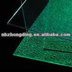 UV coated lexan polycarbonate embossed sheet,polycarbonate sheet