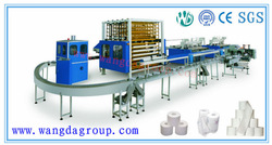 WD-TP-PL1092-3500I High-Speed Production Line Machine For Producing Toilet Paper
