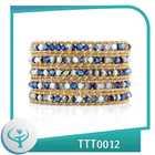 [TTT Jewelry] 2014 cheap wholesale friendship unisex wrap bracelet button for