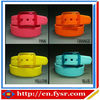 2014 fashion colorful silicone belt for men and women