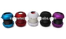 New arrival Portable pocket Mini Hamburger Speaker for iPhone iPad iPod Laptop PC MP3 Audio Amplifier