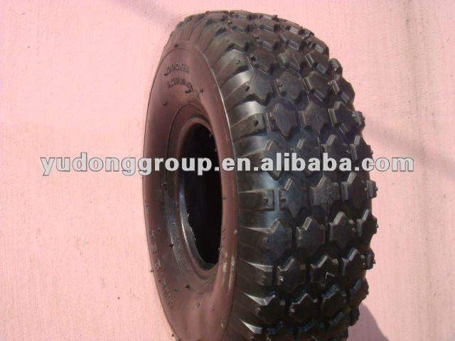 Neumático de la carretilla 4.80/4.00- 8, neumático de la carretilla 4.00-8/carretilla neumático de goma 4.00-8