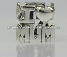 silver925 jewelry- 925 sterling silver charms for mothers day hotsale