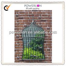 birdcage shaped mirror home decor