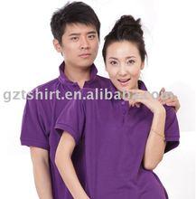 Customerized short sleeve promotional polo t-shirt