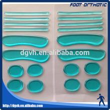 Piede pacchetto di sopravvivenza/gel pad set cinghia piede cura dei piedi kit