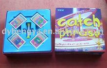 Catch Phrase Board Game set