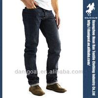 Mens Carbon Original Raw Red Japanese Selvedge Denim Jeans