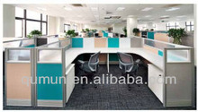 China manufacturer top brand modern modular office screen partition for project