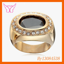 Black Gemstone Ring,New Products Looking For Distributor,18k Gold Black Gemstone Rings,Best Selling Products,Natural Black Gemst