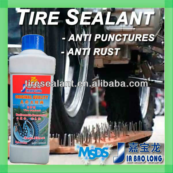 Motorcycle Tire Sealant Prevents and Repairs Flat Tires