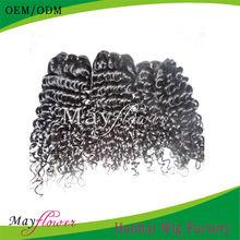 remy brazilian human hair extension no shedding no tangle no mix free shipping