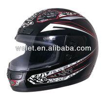 full face helmet WLT-106 White/5#acrylic helmet stand