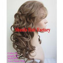AAAAA2013 virgin body wave european long hair lace front wig