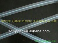 Hi-Q(high quality) pvc Plastic Zipper for doypack