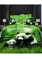 2013 vendita calda biancheria da letto panda 3d stile set