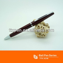TTX-A25B Wooden color pens for promotion logo