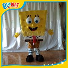 competitive price cartoon mascotte spongebob mascot
