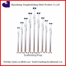 Q235/Q345 carbon steel Galvanized adjustable scaffolding prop