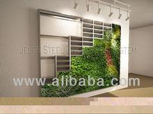 Living wall vertical garden green wall grass flower vegetable planters , building rain screen cladding