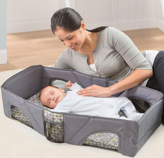 summer travel baby bed bag