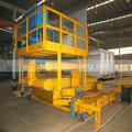 2t- 10t rotatory de carga de la máquina de aluminio para horno de fusión