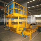 2T -10T rotatory charging machine for aluminium melting furnace