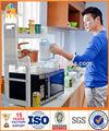 Byn mensola della cucina per forno a microonde utensile da cucina stand pneumatico storage rack dq-1305