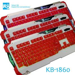 R8 Latest Backlit Keyboard,LED Gaming Keyboard