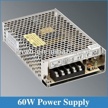 ac dc power supply S-60-12 12v 5a portable power adapter desktop 60w power