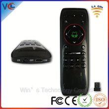 Latest 2.4g High-tech wireless mini arabic keyboard air mouse