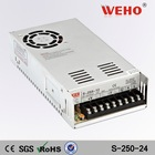 250w CE RoHS approved led driver S-250-24 ac-dc switching power supplier