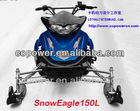 New 180cc child snowmobile snow mobile (Direct factory )