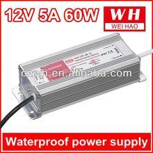 various waterproof 60w 5a 12v ups power supply
