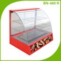 Restaurante equipamentos de restauração, vidro display showcase bn-660. R