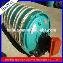 500mm diameter heavy duty steel belt conveyor bend drum pulley from baoding factory