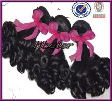Libeier hair extension , top grade unprocessed high quality 100% human hair extension