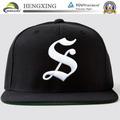 Personnalisé bouchon snapback/gros snap back chapeau/6 panneau. snapback bouchon avec le logo de broderie/chapeau bon marché
