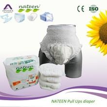 Eco-friendly adult waterproof plastic pant/pull ons diaper