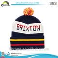 Venta al por mayor de alta calidad personalizados de acrílico gorrita/sombrero de punto/sombrero del invierno
