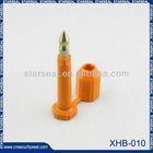 XHB-010 ISO 17712 / C-TPAT logistics transport seals mechanical seal drawing