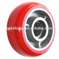 Unique roue de roulette, idéal machines. roulettes, 125mm industriel. corée. polyuréthane roulette