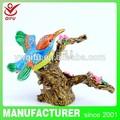 Populaire en métal oiseaux souvenir aimant artisanat d'art de décoration de jardin( qf3539)