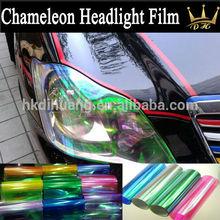 Chameleon Automobile Headlight Tints Lighting Vinyl 0.3*10m/roll
