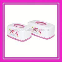 2014 factory direct sale plastic round tissue holder