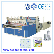 Semi Automatic Toilet Paper Rolling Machine with CE Certificate